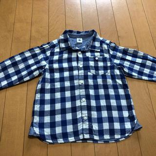 PETIT BATEAU - プチバトー  チェックシャツ 110