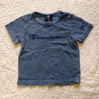 Champion - 80cm●Champion…インディゴ風Tシャツ●