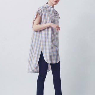 Drawer - 大人気完売♡yori♡ノースリーブビックチェックシャツ♡