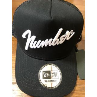 ナンバーナイン(NUMBER (N)INE)のナンバーナイン ニューエラ 値札付き未使用品。(キャップ)