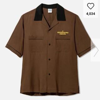 ジーユー(GU)のSサイズ GU studio seven オープンカラーシャツ (Tシャツ/カットソー(半袖/袖なし))