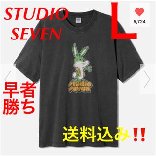 ジーユー(GU)の【新品★送料込み‼️】GUビッグT(半袖)STUDIO SEVEN 2(Tシャツ/カットソー(半袖/袖なし))