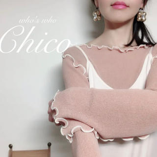 who's who Chico - ♡who's who Chico フーズフーチコ メローニット♡
