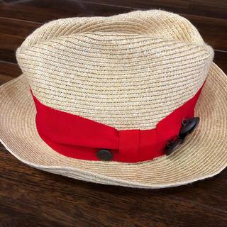 ゴートゥーハリウッド(GO TO HOLLYWOOD)のgo to hollywood ストローハット L 52cm 54cm(帽子)