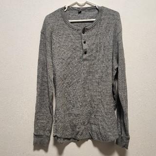 ユニクロ(UNIQLO)のUNIQLO ワッフル長袖シャツ(Tシャツ/カットソー(七分/長袖))