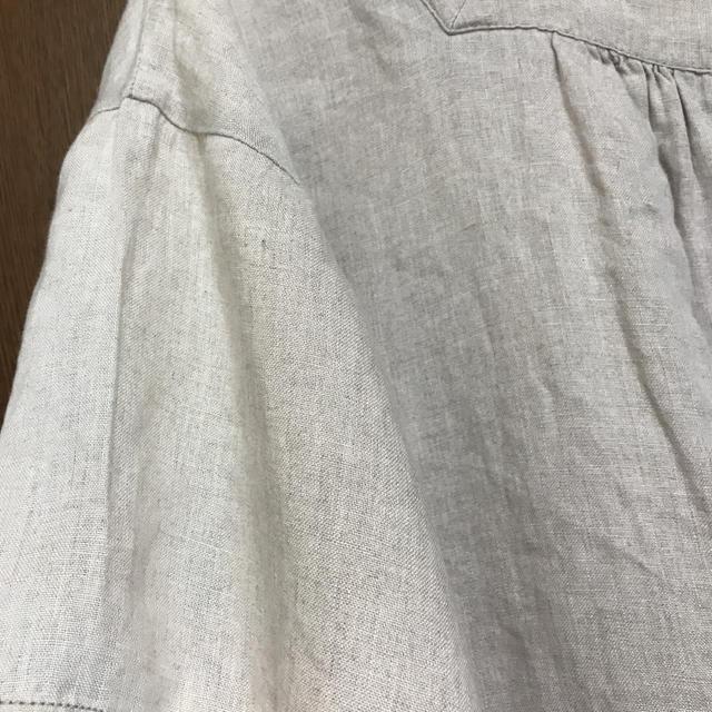 SM2(サマンサモスモス)のsm2 前後着 リネンワンピース レディースのワンピース(ロングワンピース/マキシワンピース)の商品写真