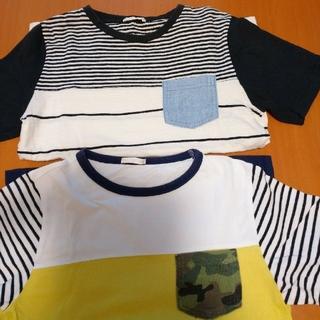 ジーユー(GU)のGU  半袖Tシャツ  140cm(Tシャツ/カットソー)