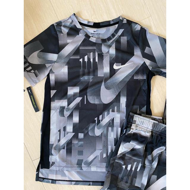 NIKE(ナイキ)の新品❗️NIKE 上下セット 150センチ キッズ/ベビー/マタニティのキッズ服男の子用(90cm~)(Tシャツ/カットソー)の商品写真