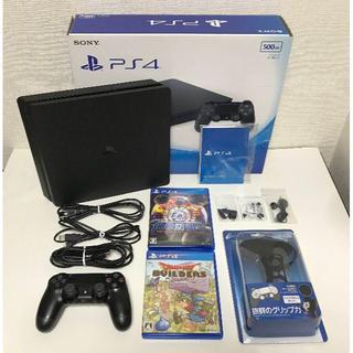 プレイステーション4(PlayStation4)のプレステ4PlayStation®4 ブラック 500GB CUH-2000A (家庭用ゲーム機本体)