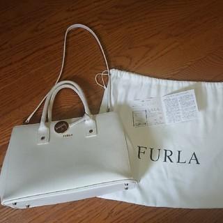 Furla - 正規店購入 FURLA トートバッグ ショルダーストラップ付き
