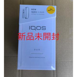 IQOS - 【新品】iQOS3 DUO 新型アイコス 未登録 本体キット
