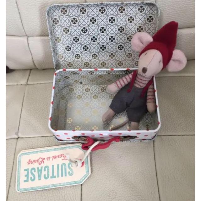 Bonpoint(ボンポワン)のメイレグ  ネズミちゃん   スーツケース キッズ/ベビー/マタニティのおもちゃ(ぬいぐるみ/人形)の商品写真