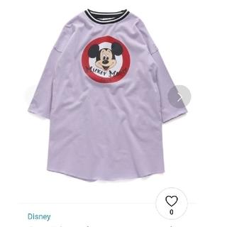 エフオーキッズ(F.O.KIDS)のネット限定Disney キャラクターワンピース パープル 130㎝(ワンピース)