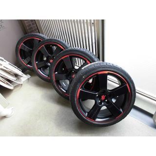 エッティンガー(ETTINGER)の225/40r18 エッティンガーホイール  ダンロップ新品タイヤ付 4本セット(タイヤ・ホイールセット)