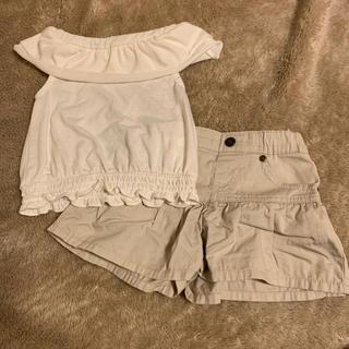 西松屋 - トップス ショートパンツ セット販売