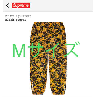 Supreme - 【Mサイズ】Supreme Warm Up Pants Black Floral
