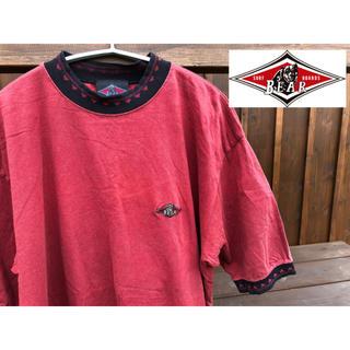 ベアー(Bear USA)のbear USA ヴィンテージ  tシャツ トリムtシャツ レア レトロ(Tシャツ/カットソー(半袖/袖なし))