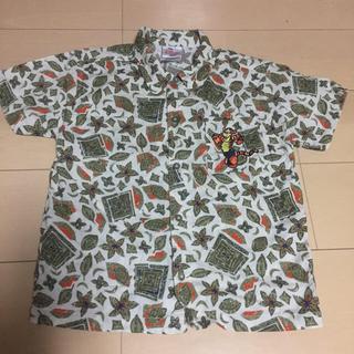 ディズニー(Disney)の☆美品 ビンテージ キッズ 男児 ディズニー シャツ ☆110〜120(Tシャツ/カットソー)