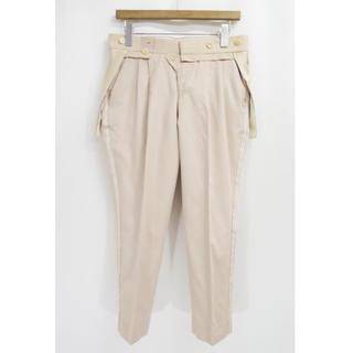 アンダーカバー(UNDERCOVER)のアンダーカバー サイドライン スカート ドッキング パンツ 側章 刺繍(カジュアルパンツ)