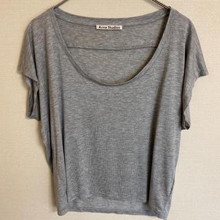 アクネ(ACNE)の【美品】ACNE studio Tシャツ カットソー トップス(カットソー(半袖/袖なし))