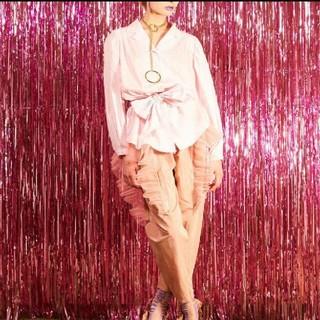 パメオポーズ(PAMEO POSE)のパメオポーズ シャツ・ブラウス ピンク色(シャツ/ブラウス(長袖/七分))