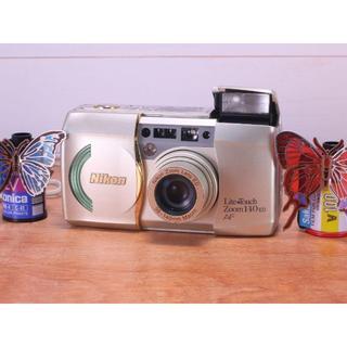 完動品◎ Nikon Lift Toch Zoom 140 フィルムカメラ(その他)
