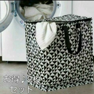 IKEA - イケア♪新商品☆クナラ 収納 2枚セット♪IKEA クナラ エコバッグ 収納 袋
