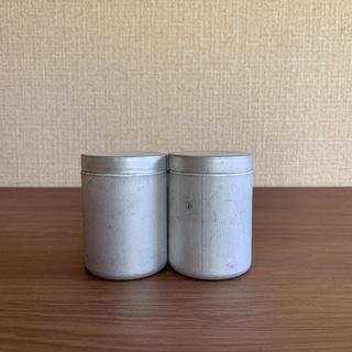 antique アンティーク アルミ 缶 入れ物 フランスアンティーク(その他)