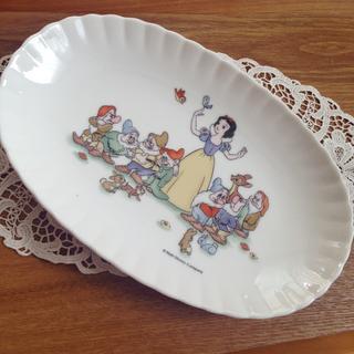 Disney - ディズニーランド 白雪姫 楕円皿 オーバルディッシュ