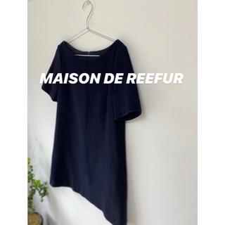メゾンドリーファー(Maison de Reefur)のメゾンドリーファーNAVYミニワンピース(ひざ丈ワンピース)