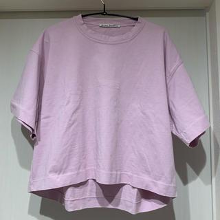 アクネ(ACNE)のcare様専用 acne エンボスロゴTシャツ pink(Tシャツ(半袖/袖なし))