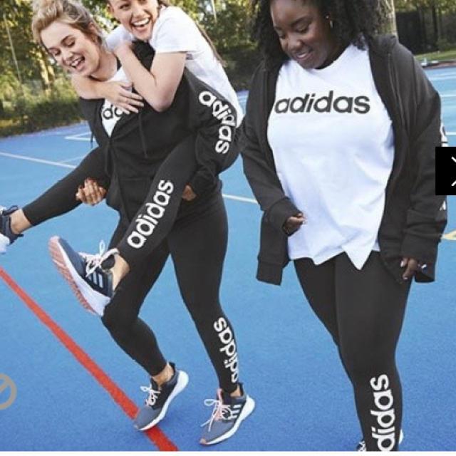 adidas(アディダス)のアディダス スパッツ レギンス レディースのレッグウェア(レギンス/スパッツ)の商品写真