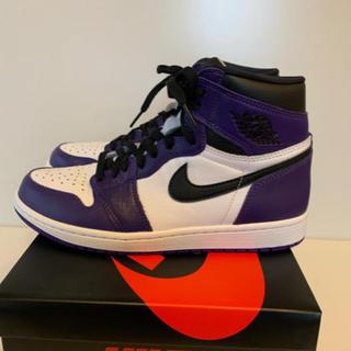 ナイキ(NIKE)のNike Air Jordan 1 Purple(スニーカー)