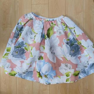 チェスティ(Chesty)のチェスティ 花柄スカート(ひざ丈スカート)