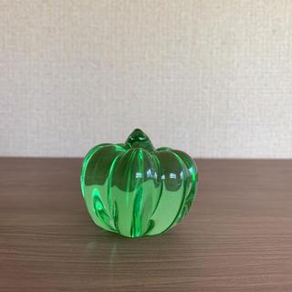 スガハラ(Sghr)のガラス オーナメント カボチャ スガハラガラス 置物 重り(置物)