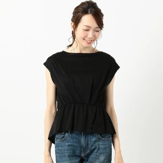 anySiS - any sis  ブラウジングスリットTシャツ