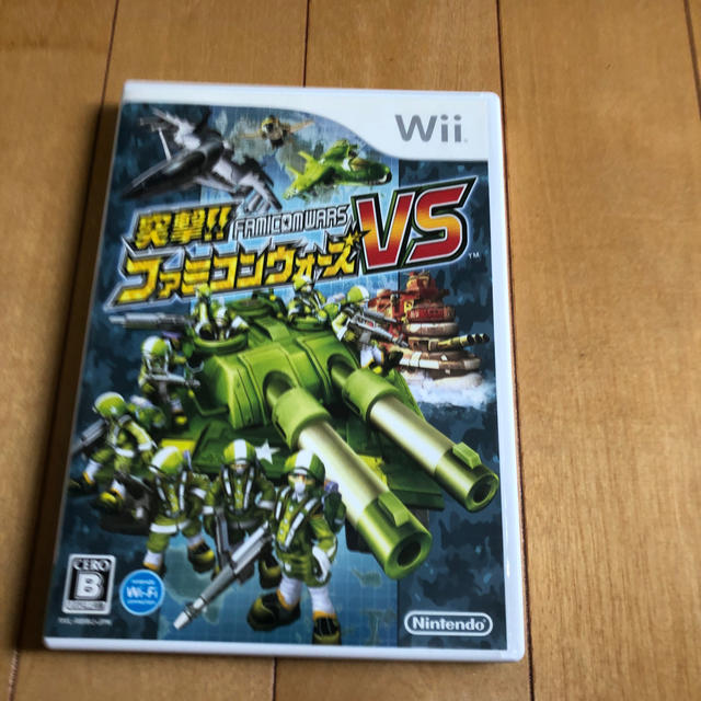 Wii(ウィー)の突撃!! ファミコンウォーズVS Wii エンタメ/ホビーのゲームソフト/ゲーム機本体(家庭用ゲームソフト)の商品写真
