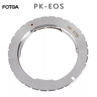 Pentax kマウント→ Canon EF マウント アダプター(その他)