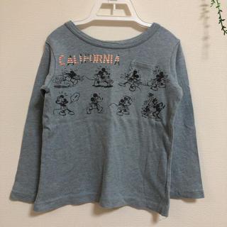 エフオーキッズ(F.O.KIDS)のF.O.KIDS 100 /ミッキー 長袖Tシャツ(Tシャツ/カットソー)