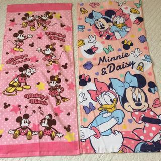 Disney - タオル ミッキー&ミニー