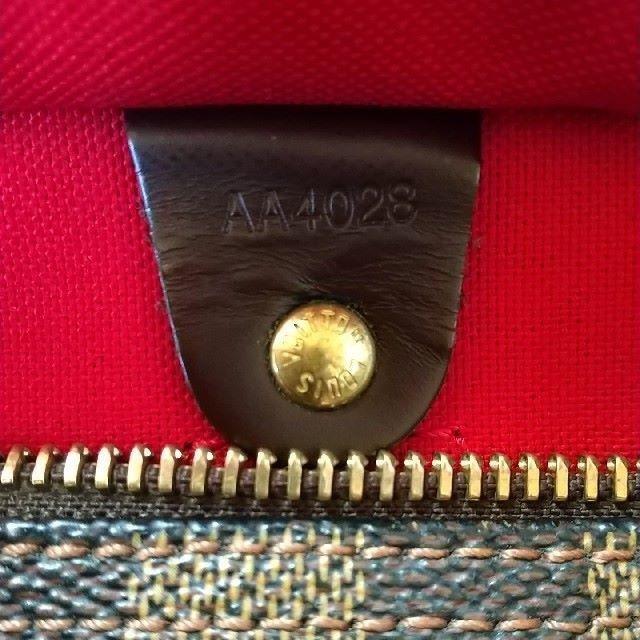 LOUIS VUITTON(ルイヴィトン)のルイ・ヴィトン ダミエ スピーディー30 レディースのバッグ(ボストンバッグ)の商品写真