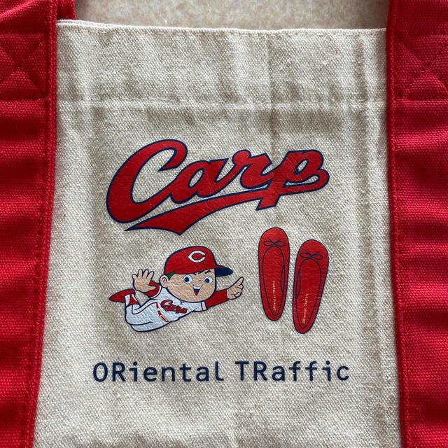 広島東洋カープ(ヒロシマトウヨウカープ)の広島カープ トートバッグ 🌟 スポーツ/アウトドアの野球(応援グッズ)の商品写真