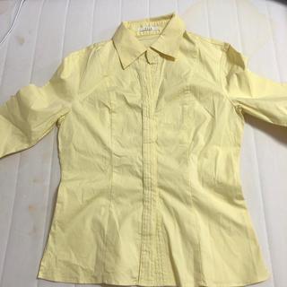 エル(ELLE)のELLE カラーシャツ 40 L(シャツ/ブラウス(長袖/七分))