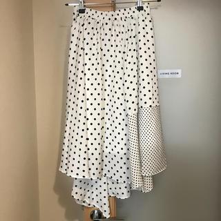 コウベレタス(神戸レタス)の神戸レタス ドット柄スカート(ひざ丈スカート)