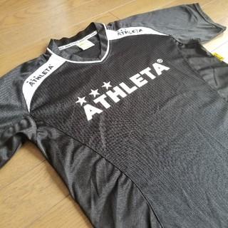 ATHLETA - ★ATHLETA製 Jrジュニア用 Vネック仕様 半袖プラシャツ/キッズ150㌢
