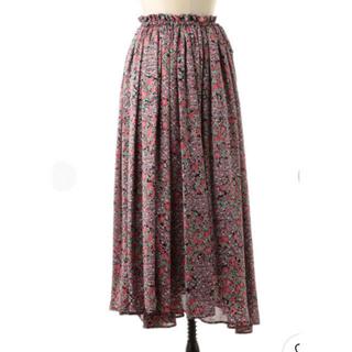Drawer - ドゥロワー  T-matフラワースカート