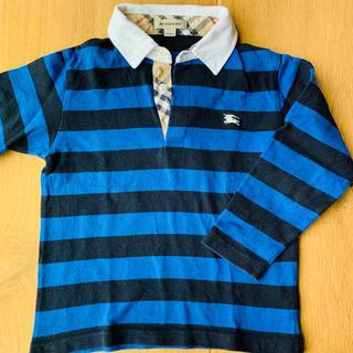 バーバリー(BURBERRY)のBurberry ラガーシャツ  ポロシャツ(ブラウス)