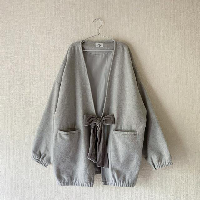 merry jenny(メリージェニー)のmerry jenny 人気商品 リボンコート レディースのジャケット/アウター(ロングコート)の商品写真