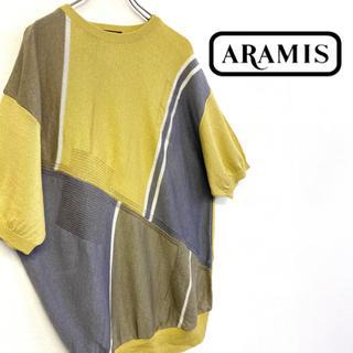 アラミス(Aramis)の美品 ARAMIS シルク混 サマーニット(ニット/セーター)