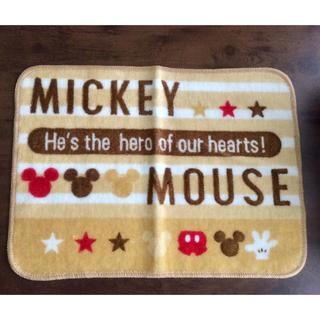 Disney - 【先着1名様限定 ★新品未使用】ディズニー ミッキーマウスシルエット バスマット